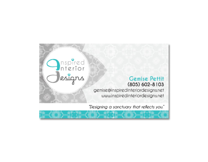 Inspired Int Designs Business Card