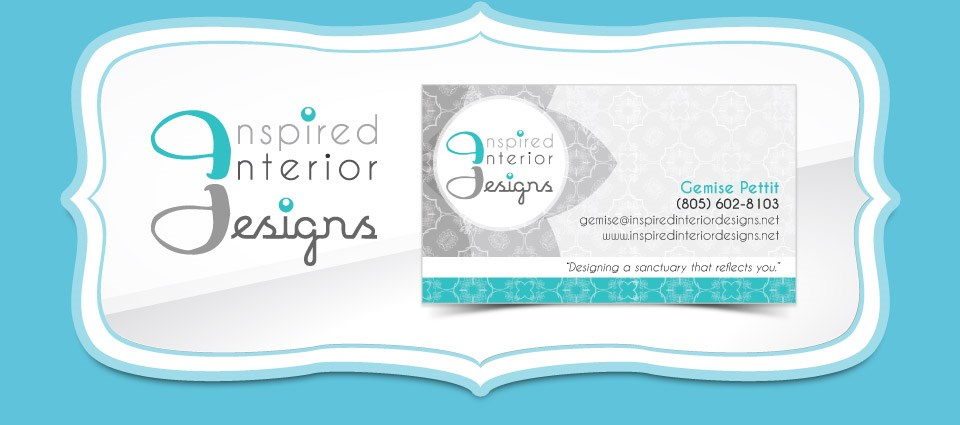 Inspired Interior Designs - Logo & Business Card Designs