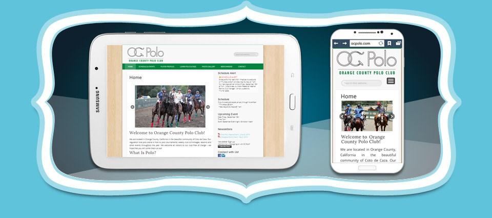 OC Polo Responsive Website Design