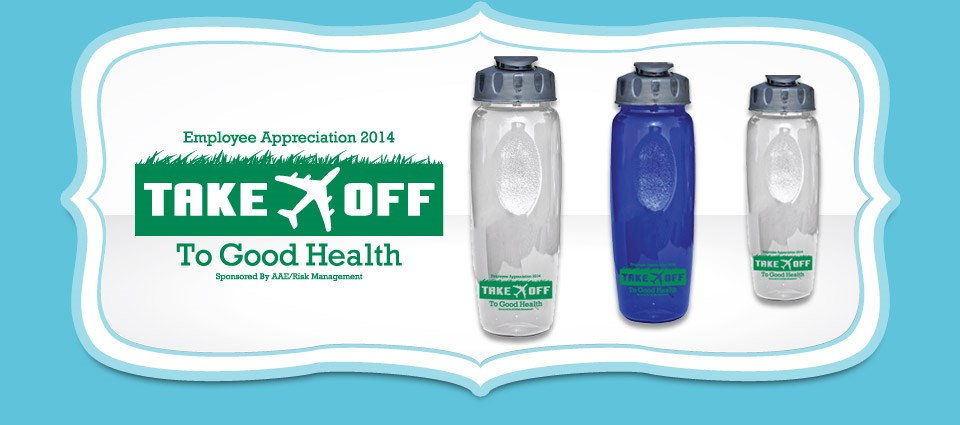 Take-off To Good Health Logo Design for Product Giveaway