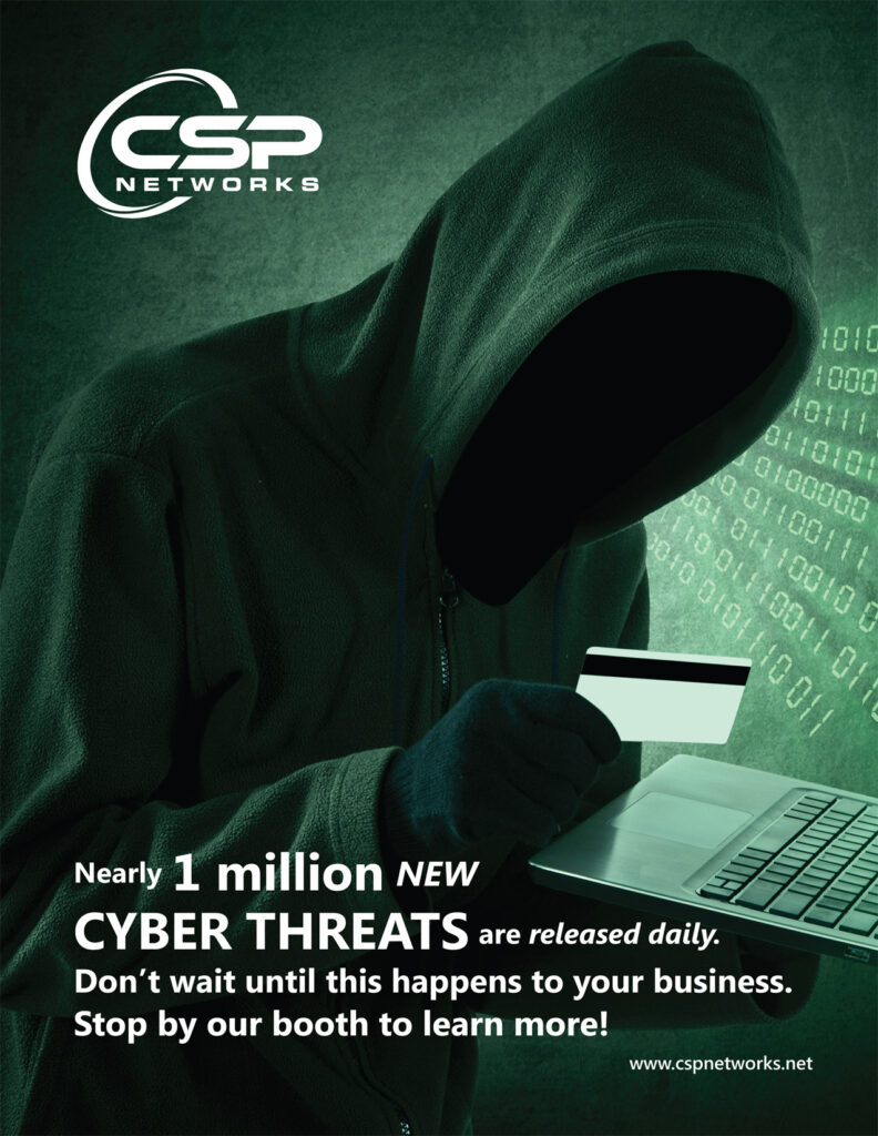 CSP Networks - Trade Show Full Page Ad