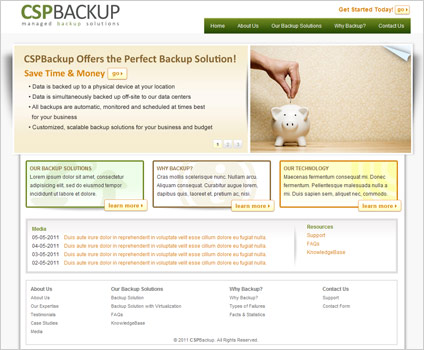 CSP Backup Website