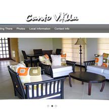 Canto Villa Responsive Website